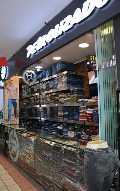 Petrolizado Jeans Colombianos local gran san