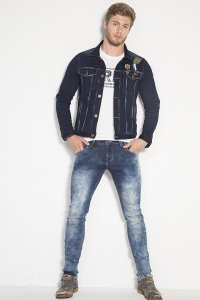Petrolizado Jeans Colombianos para hombre