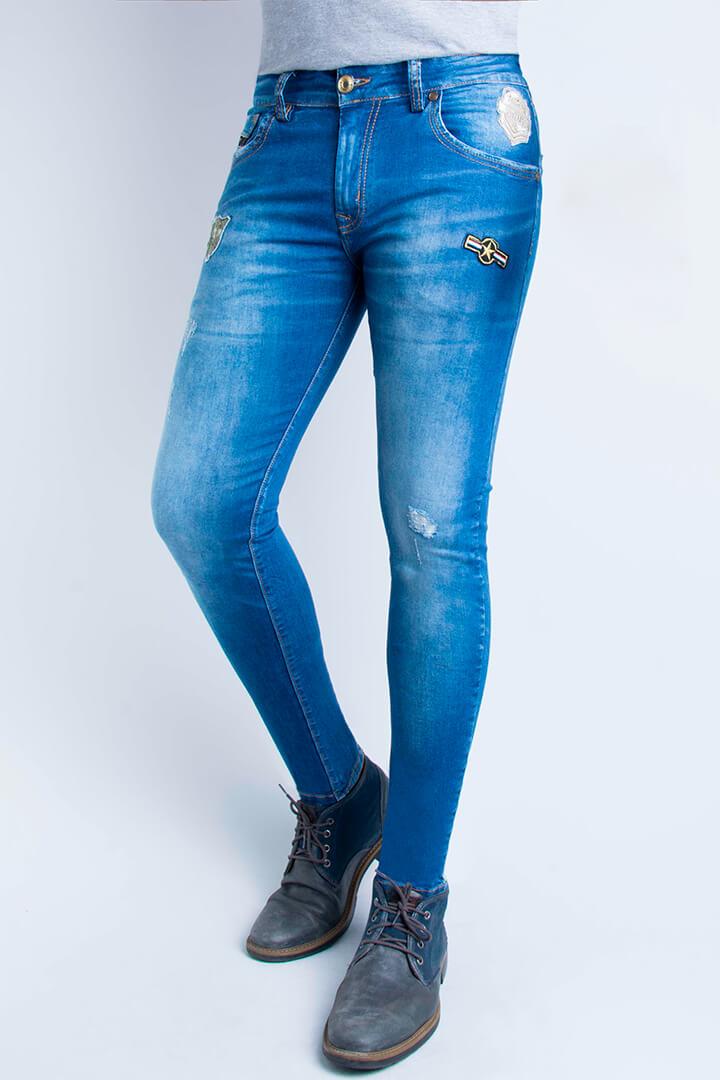 73e91a665f5a1 Petrolizado Jeans Colombianos para hombre al por mayor