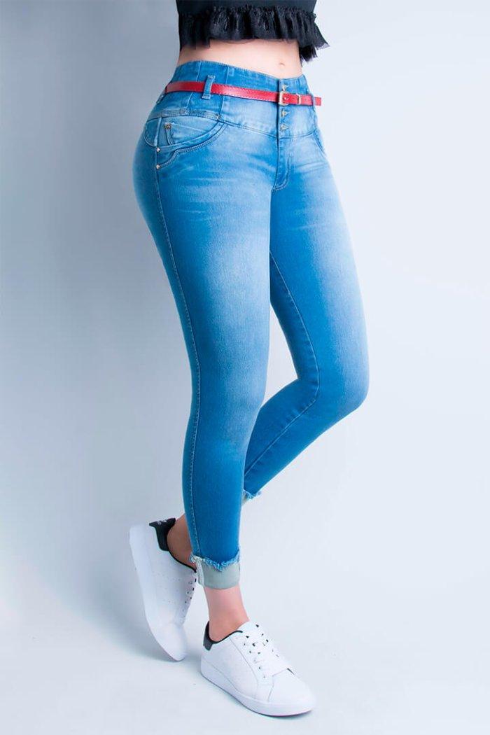 Petrolizado Jeans Colombianos para mujer al por mayor