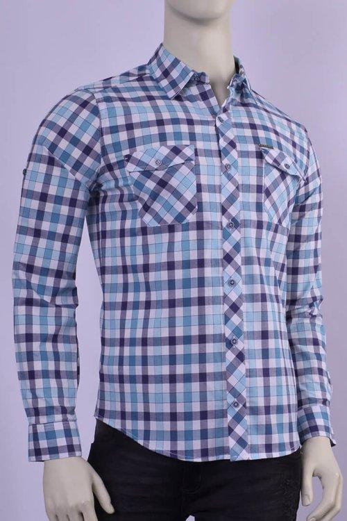 camisas colombianos al por mayor - petrolizado jeans - camisas para hombre