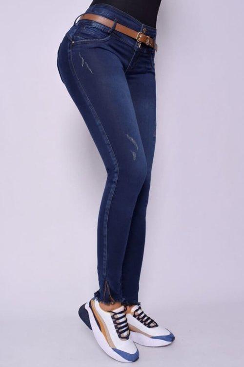 Jeans-colombianos-Jeans-levanta-cola-Jeans-para-mujer-al-por-mayor-Petrolizadojeans-frente-REF-P02-607
