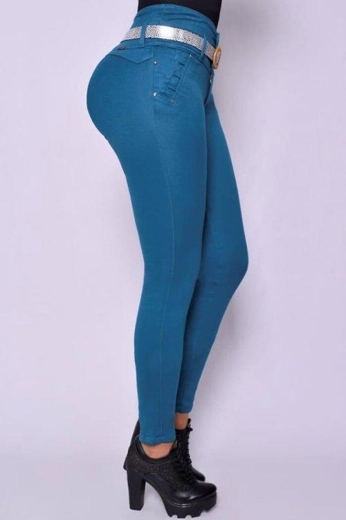 Jeans-colombianos-Jeans-levanta-cola-Jeans-para-mujer-al-por-mayor-Petrolizadojeans-frente-REF-P02-612