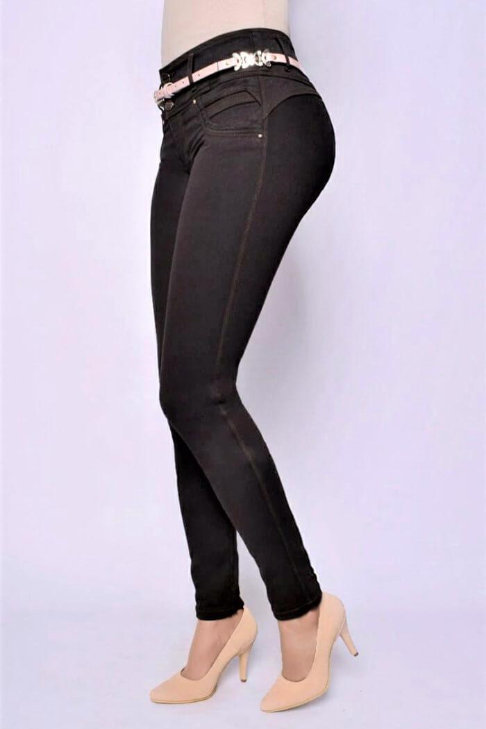 Jeans-colombianos-Jeans-para-dama-al-por-mayor-Petrolizadojeans-Jeans-REF-P01-626-frente
