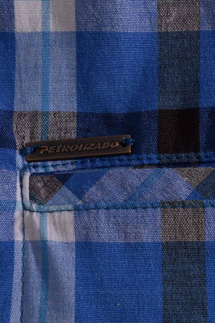 camisa-colombianas-camisa-para-hombre-camisa-al-por-mayor-petrolizado-jeans-ref-P05-66-zoom-color-azul