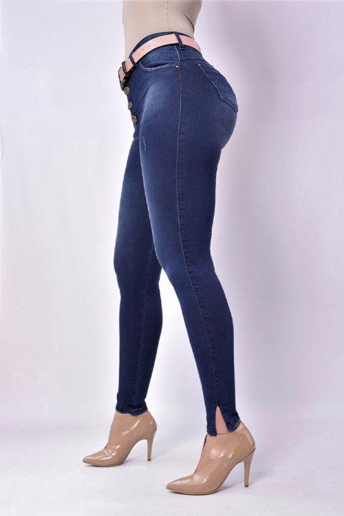 Jeans-colombianos-Jeans-para-dama-al-por-mayor-Petrolizadojeans-Jeans-REF-P02-671-frente-color-azul-oscuro